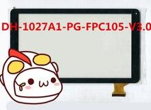 Pantalla táctil de 10.1 pulgadas DH-1027A1-PG-FPC105-V3.0 WJ819C-FPC-V1.0