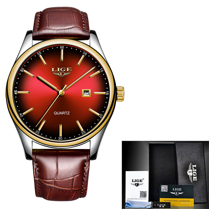 Gold red L