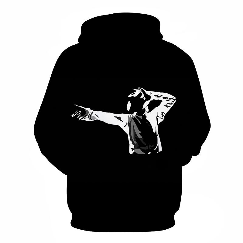 Michael Jackson Hoodies Men Women 2019 Autumn Winter Long Sleeve Hoodie Sweatshirts Casual Pullovers Streetwear Tracksuit Jacket