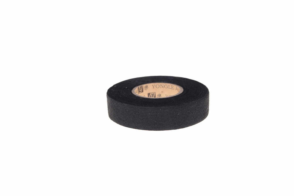 1 roll 15m*19mm heat-resistant automotive wiring harness tape adhesive  cloth fabric tape