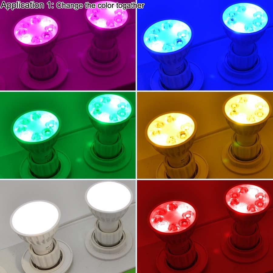 4W RGB+CCT MR16 GU107