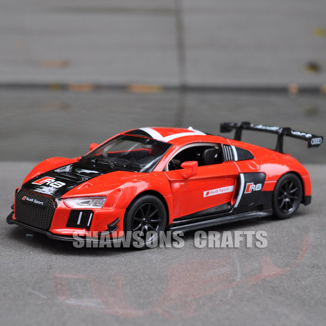 130 Diecast Metal Model Car Toys Audi R8 Lms Sport Car Replica