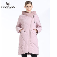 GASMAN 2019 Down Jacket Female Women Parka Medium-Long with a hood Winter Coat for Women Large Size 5XL 6XL(China)