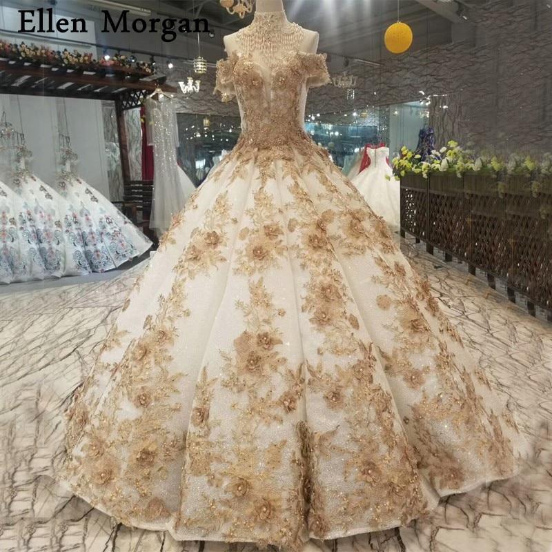 Wedding Gowns For Dark Skin: Aliexpress.com : Buy Glitter Fabric Ball Gowns Wedding