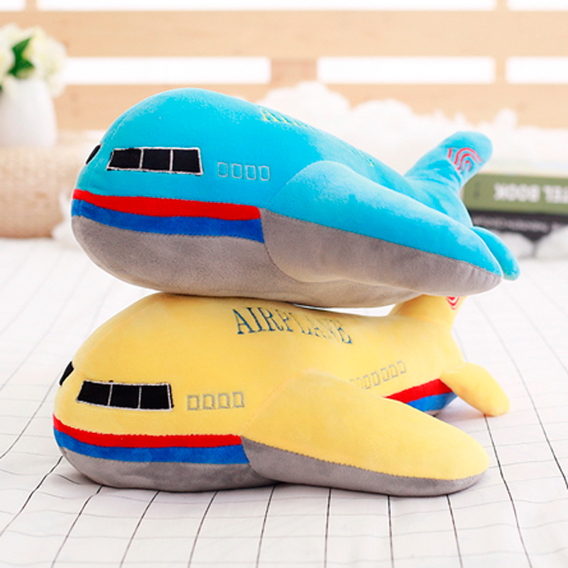 Have love Children's toys creative simulation aircraft children's plush toys educational toys