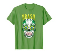 2019 новый бренд продаж хлопок короткий рукав Brasil команда рубашка 2019 для Бразилии футбол фанаты футболиста военные футболки