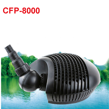 75 W Asynchronous Pump with Protective Cage for Ponds and Pools Cascades CFP-8000 Pond water pump