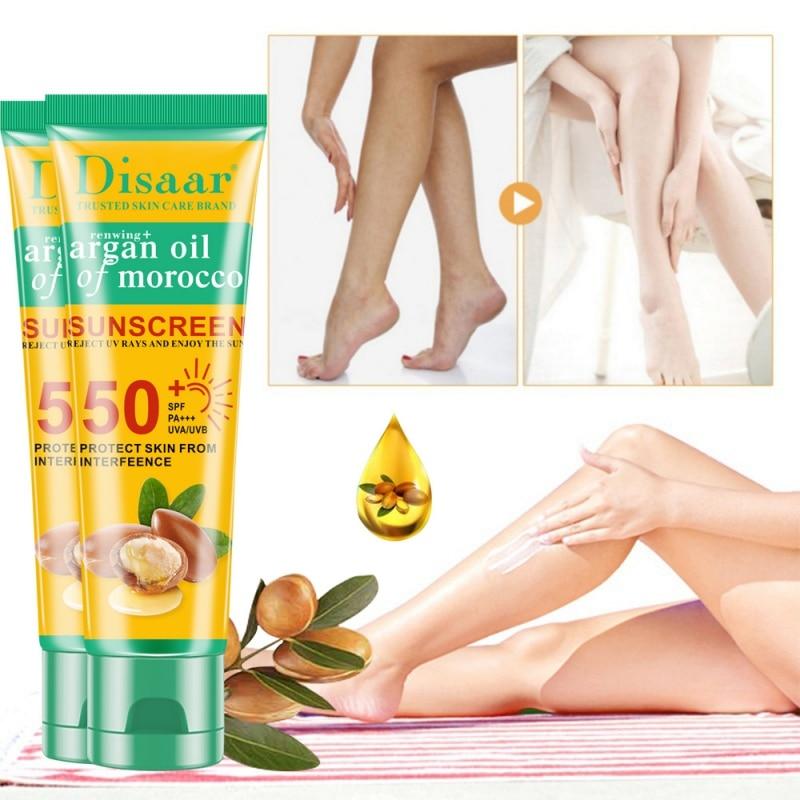 Body Facial Sun Lotion SPF 35 Isolation UV Sunblock Concealer Sunscreen Cream Waterproof Lasting Cosmetic Makeup Y1