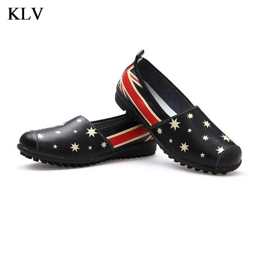 Flat Shoes Women pu Leather Women's Loafers 2016 Spring Summer New Ladies Shoes Flats Womens mocassin Plus Size Jan6 flat shoes women pu leather women s loafers 2016 spring summer new ladies shoes flats womens mocassin plus size jan6