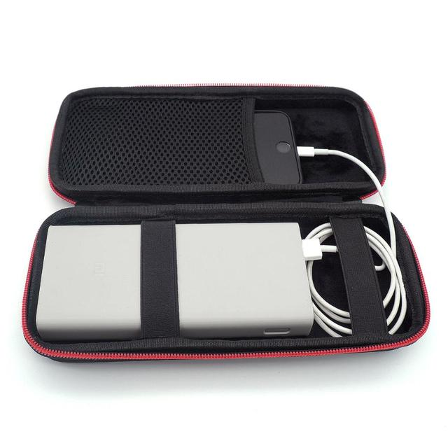 2019 New Hard EVA Travel Box Portable Case for Xiaomi Mi Power Bank 20000 20000mAh 2C Cover Portable Battery PowerBank Phone Bag 2