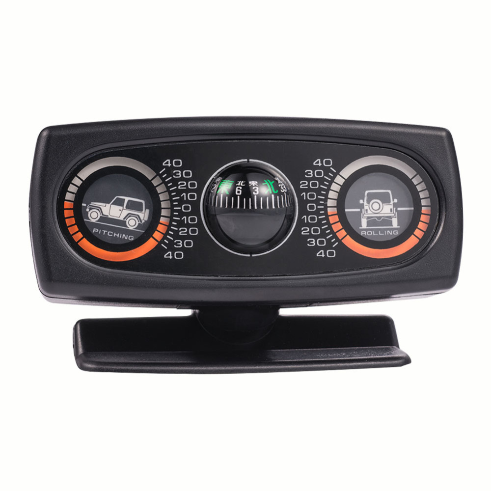 Inclinometer Compass Car Accessories Inclination Tool Level Wave Instrument