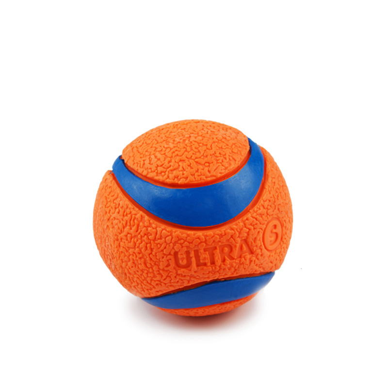 red color Rubber Ball Toy