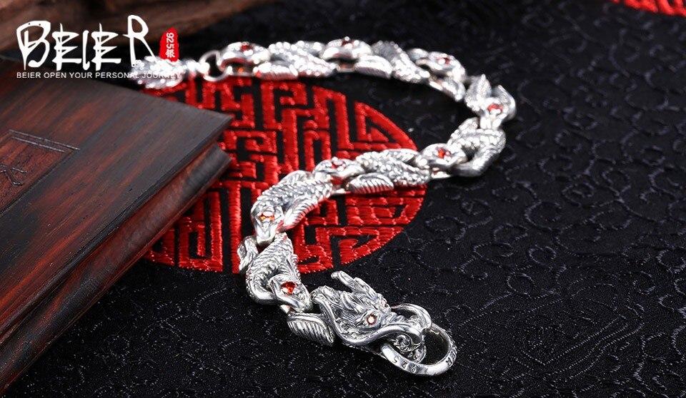homens zircão mão corrente jóias finas BR-SL003