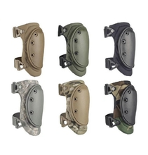 Wholesale US Army Mil force Adjustable strap O-Shape Sport Militay Tactical Elbow pad Knee pad