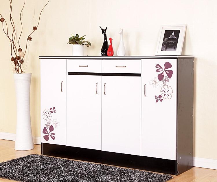 Env o gratis recibidor zapatero gabinete muebles pintados - Muebles para la entrada ikea ...