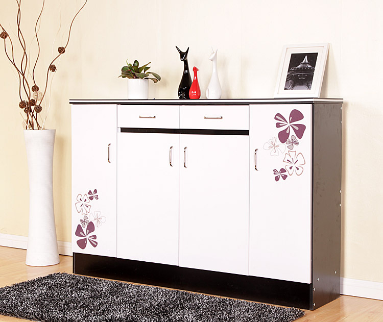 Env o gratis recibidor zapatero gabinete muebles pintados for Envio de muebles