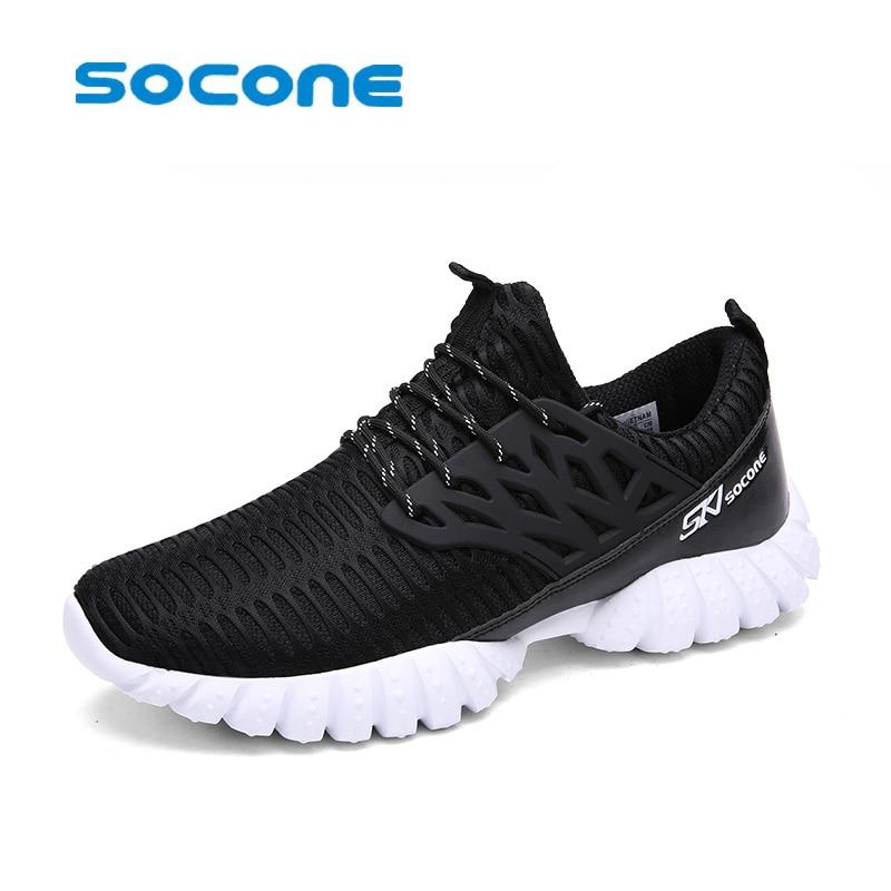 socone hardloopschoenen voor heren is van ademend Easy Run-sneakers EVA-buitenzool Schoeisel Zachte sportschoenen