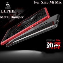 "Top Quality Bumper Case For Xiaomi mi Mix Original Luphie Brand Luxury Metal Case Aluminum Frame  For Xiaomi Mi Mix 6.4"""