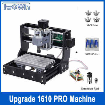 CNC 1610 Pro 3 Axis pcb Milling machine,GRBL control Diy mini cnc machine,Wood Router laser engraving,with offline controller - DISCOUNT ITEM  23% OFF Tools