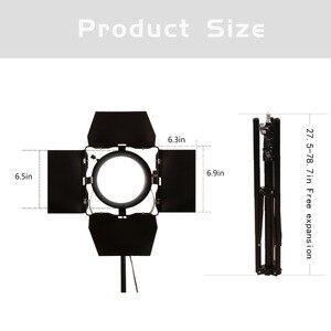 Image 5 - Gskaiwen CRI Cao 92 + Tặng Đèn LED Chụp Ảnh Đèn Camera Đèn Phòng Thu Chuyên Nghiệp Tripod Độ Sáng Điều Chỉnh Video Lấp Đầy Ánh Sáng Bộ