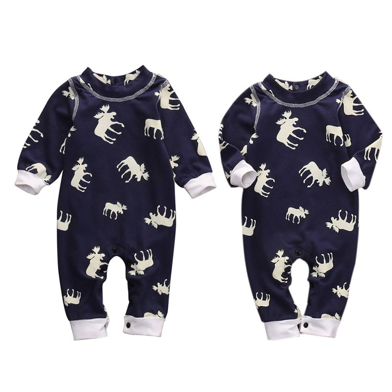 Hot!!! Toddler Infant Baby Boys Girls Long Sleeve Romper Jumpsuit Clothes Outfit 6821 H3