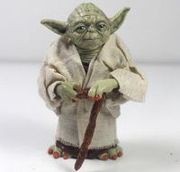 12cm Star Wars Jedi Knight Master Yoda Action Figure Collection Toys For Christmas Gift