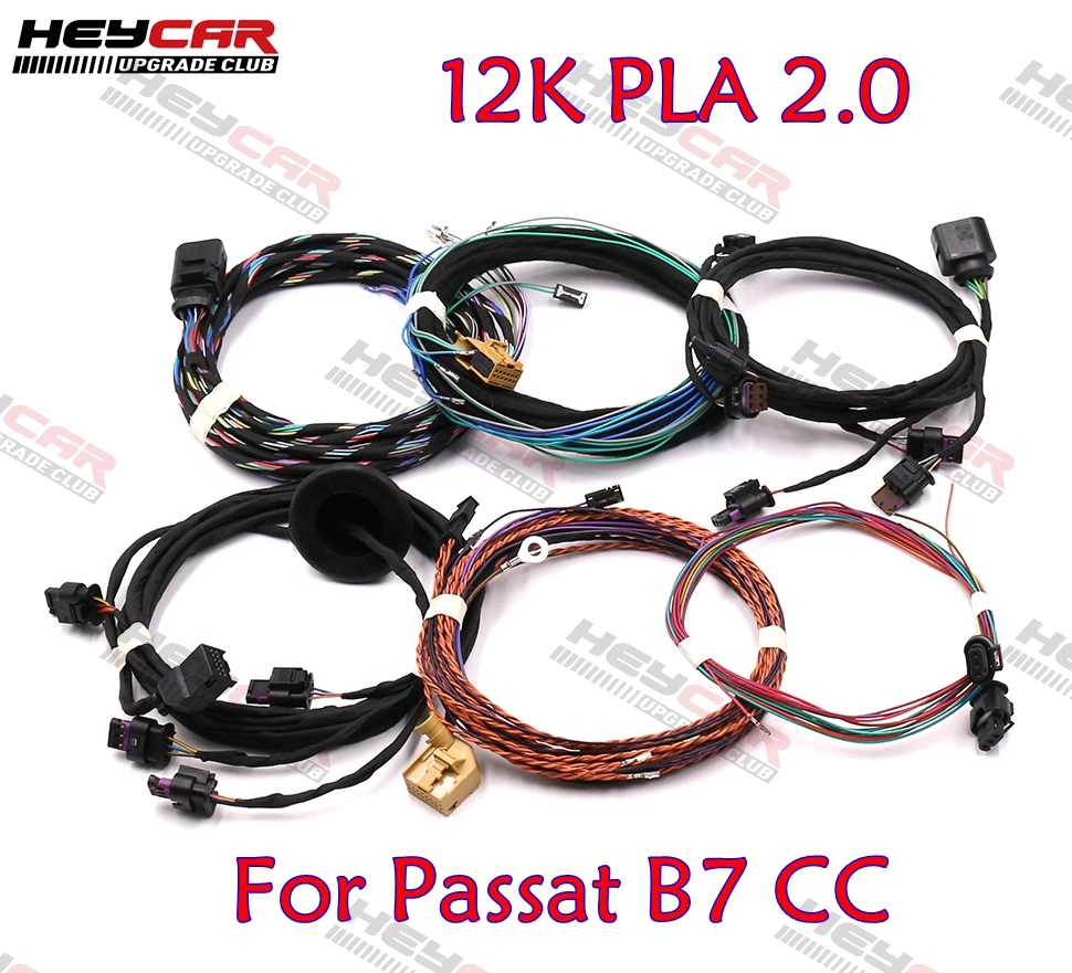 Front Rear Auto Parking Assist 12K PLA 2 0 Upgrade OPS Install Harness Wire For Passat