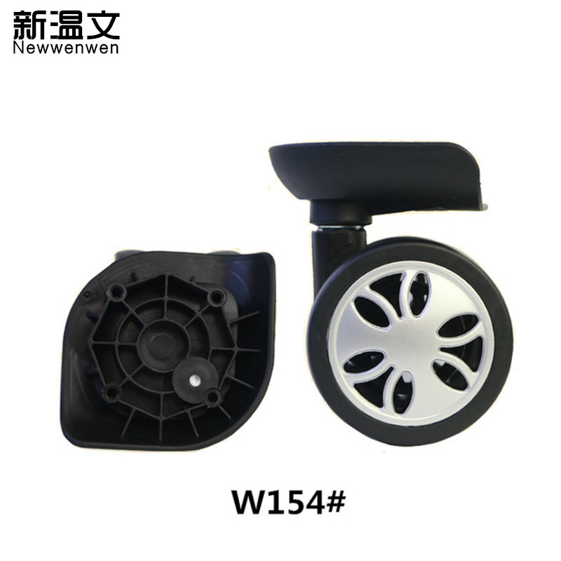 Replacement Luggage Wheels,Repair wheels for suitcases,replacement Suitcase wheels parts W154# new luggage replacement wheels suitcase repair replacement parts 360 spinner upright mute high quality wheels for suitcases 2pcs