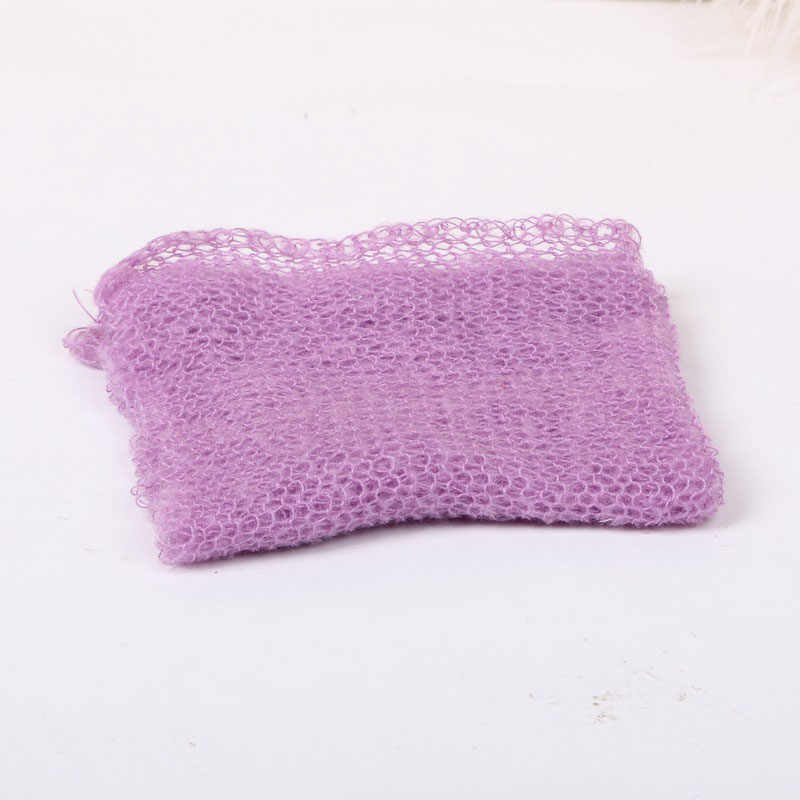 Детское искусственное меховое одеяло, корзина, мягкий наполнитель, реквизит для фотосъемки, фоновое одеяло для новорожденного, 40*60 см