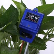 3 in 1 Soil Moisture Water Sunlight Monitor PH Meter Analyzer Light Analized for Flowers Temperature Tester Garden Tool