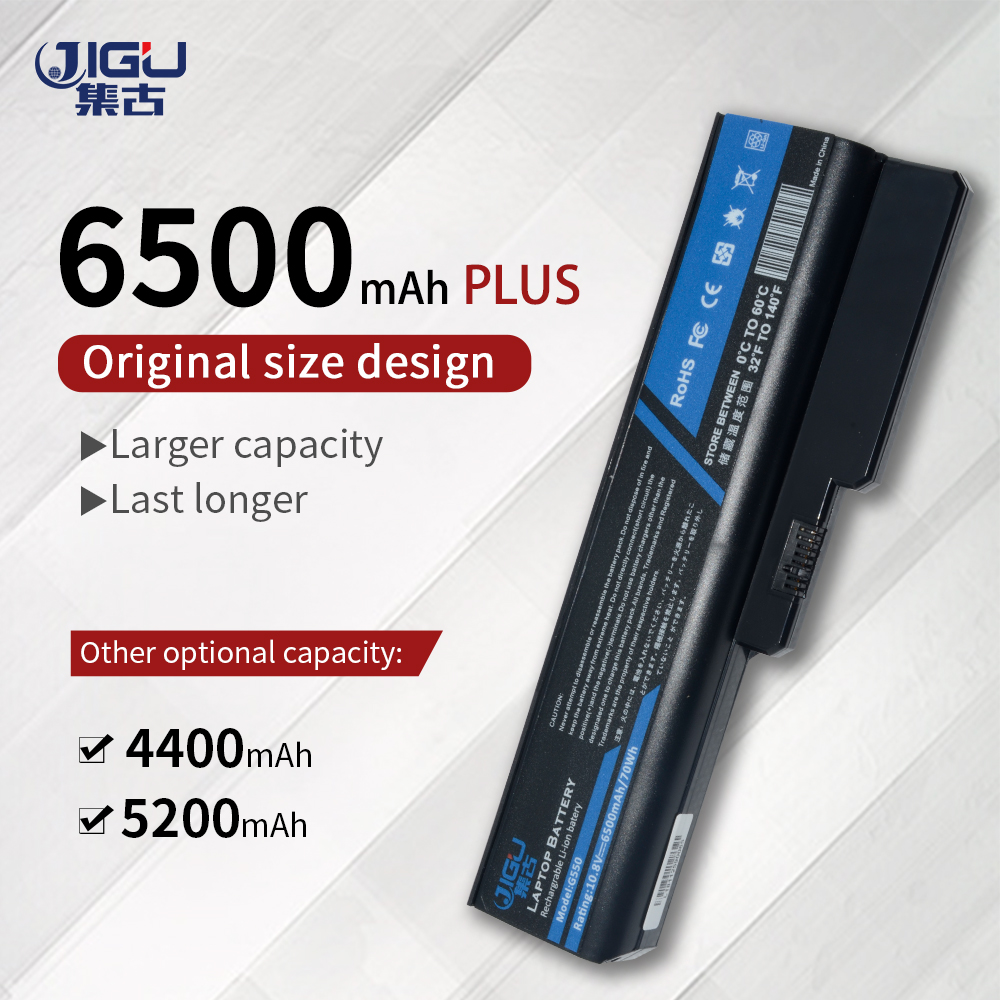 JIGU Laptop Battery For IBM Lenovo 3000 N500 B550 G450 G530 G550 IdeaPad B460 G430 G555 G455 V460 V460A Z360 V460A-IFI G430 4152