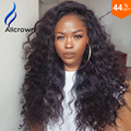 9a Lace Front Full Lace Human Hair Wigs Curly Lace Front Human Hair Wig Front Lace Deep Wave Wig Brazilian Virgin Hair Upart Wig