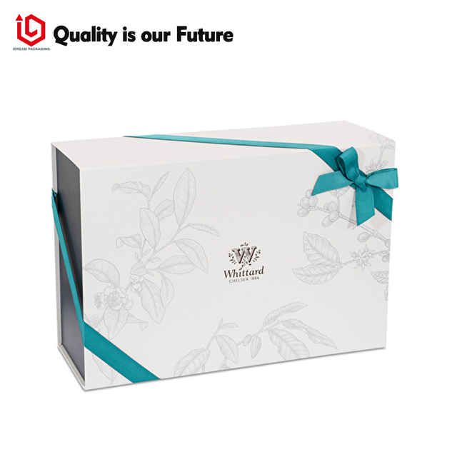 Us 0 75 Aliexpress Com Buy Ribbon Bow Tie Custom Logo Printing Paper Christmas Cardboard Gift Boxes Wholesale Luxury Custom Made Premium Marbling