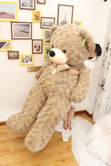 Fancytrader 67\'\' 170cm JUMBO Huge Giant Plush Stuffed Teddy Bear, 3 Colors Available, Free Shipping FT90345 (4)