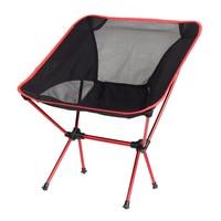 56x60.5x65.5 cm Portable Chaise Pliante Siège Respirant Léger Net Tabouret De Pêche Camping Randonnée Président De Jardinage Avec poche