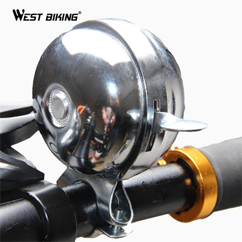 Bicycle Bell Sound Resounding Hand Dial Style High Decibel Safety Bicycle Retro Vintage Antique Bike Bell Horn Cycling Equipment