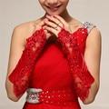 6 Цвета Перчатки Без Пальцев Атласная Пром Невесты Перчатки Для Женщин 2017 Новая Мода Женские Длинные Перчатки