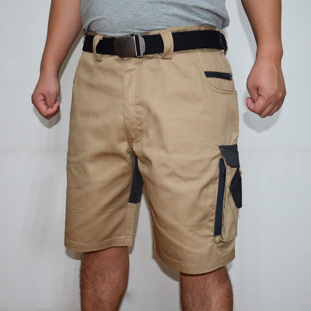 Responsible Summer 2019 Casual Shorts Regular Solid Pockets Khaki Black Cotton Shorts Men Cargo Shorts Men Military Style Army Mens Shorts Casual Shorts