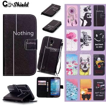 4a5920b7cf5 Caja del Smartphone para la galaxia S4 S 4 mini 4 mini/S4mini Duos I9192 GT-i9190  GT-i9192 GT-i9195 cuero caja del teléfono