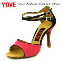 YOVE Style w123 3 Dance shoes Bachata/Salsa Indoor and Outdoor Women's Dance Shoes