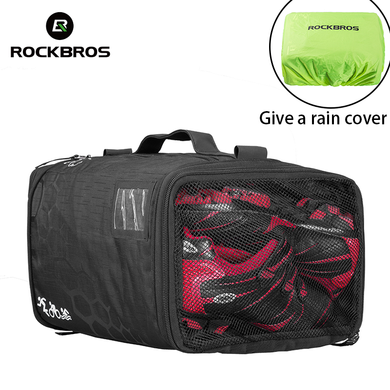 ROCKBROS 20L High Capacity Waterproof Bag Triathlon Cycling Equipment Storage Bag Gym Fitness Training Sports Backpack