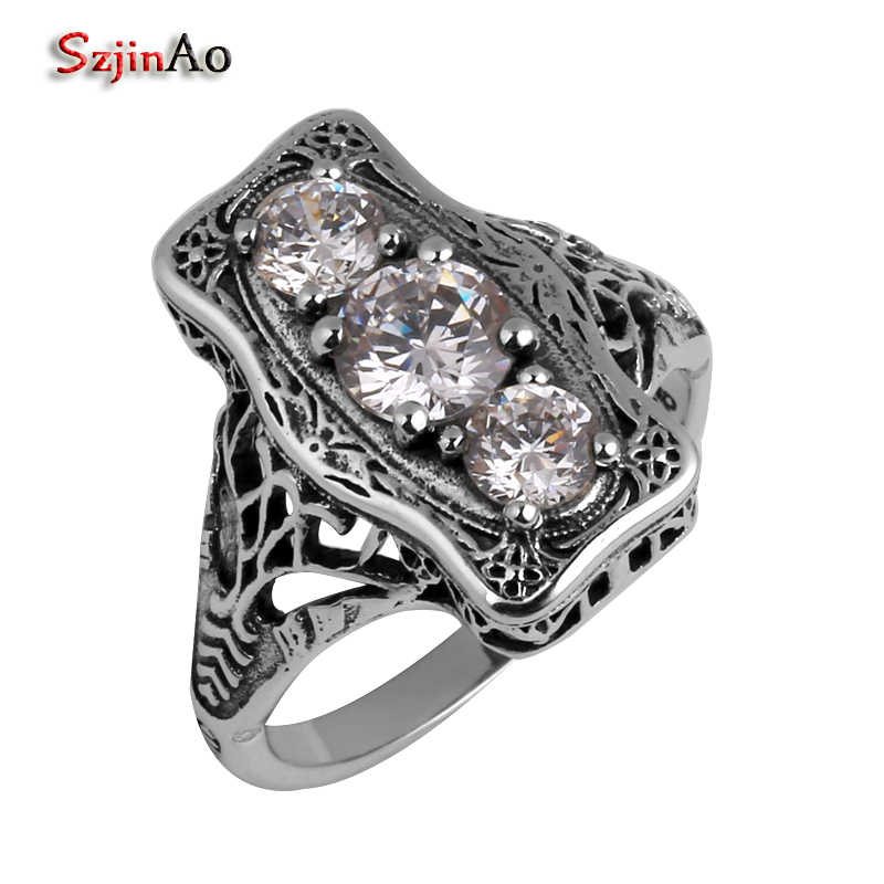 Szjinao ผู้หญิงเครื่องประดับขายส่งแฟชั่น Victoria gold และ silver เครื่องประดับ,925 เงินสเตอร์ลิงแหวน zircon