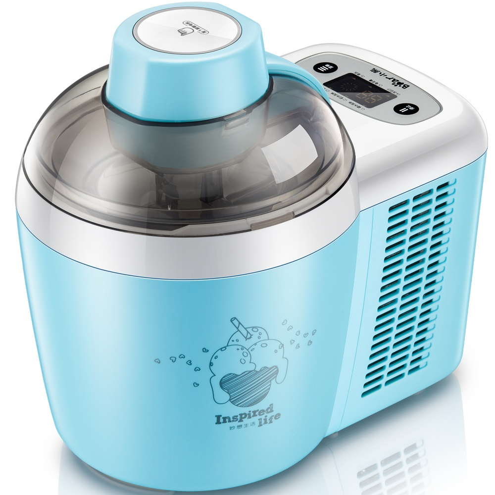 цены на china Bear automatic mini ice cream machine household intelligent ice cream maker 0.6L BQL-B06U1 110-220--240V в интернет-магазинах