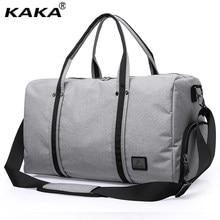 1be635d4812d KAKA Brand Design Korean Style Men Luggage Travel Bags Large Capacity  Waterproof Male Messenger Leisure Shoulder Bags Totes. US ...