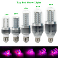Newest 18W/28W/43W/54W/60W Led Lamps For Plants Grow  AC85-265V E27  LED Aquarium Plant Grow Light Lamps For Flowering Plant