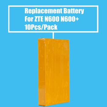 New Arrival 10Pcs/Pack 1000mah Replacement Battery for ZTE N600 N606 N600+ High Quality