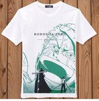 Аниме косплей костюмы Roronoa зоро один кусок луффи Portgas D Ace соломенная шляпа награда плакат tshirt хлопок