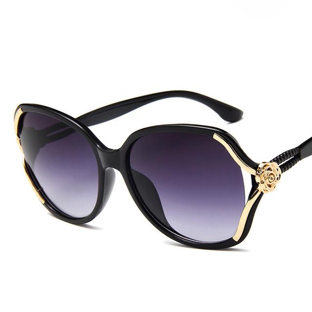 Fashion Sunglasses Women Driving Luxury Eye wear Elegant Sun Glasses New Female Vintage Mirror Goggle Woman Gradient sunglasses