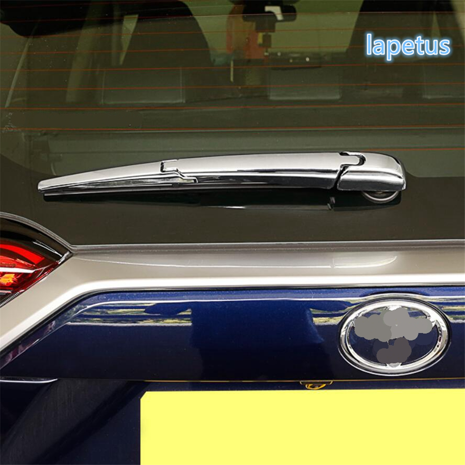ABS Chrome Rear Window Wiper Case Cover Trim Fit For Toyota RAV4 2019 2020 NEW