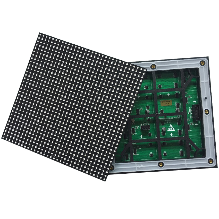 Outdoor RGB Module 192*192mm P6 SMD3535 1/8Scan 32*32dots Waterproof LED Panel For Stage Advertising